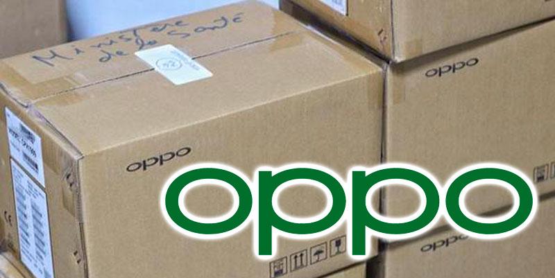 OPPO fait don de 50 smartphones au SAMU 01