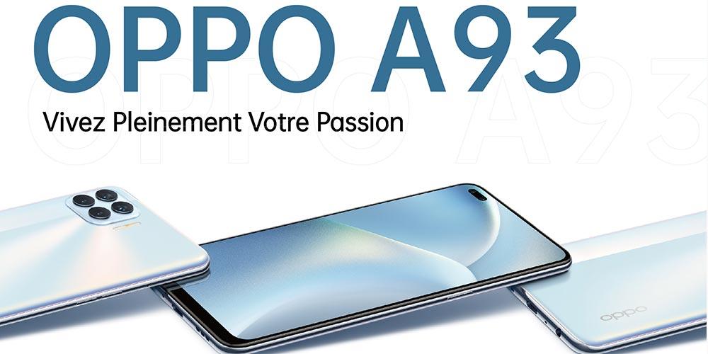 OPPO lance en Tunisie son nouveau smartphone A93 avec six caméras et un écran AMOLED
