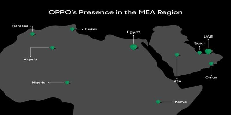 OPPO plus que jamais présente au Moyen-Orient grâce à son implantation à Dubaï