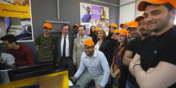 Ouverture d'un second Orange Tech Club à l'ISET Nabeul : offrir le meilleur de l'innovation technologique aux jeunes dans les régions