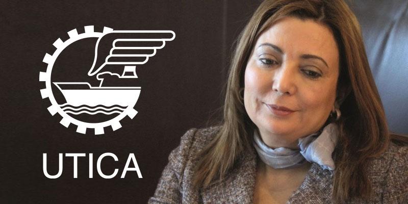 Ce qu'a dit Ouided Bouchamoui après l'élection du nouveau bureau et président de l'UTICA