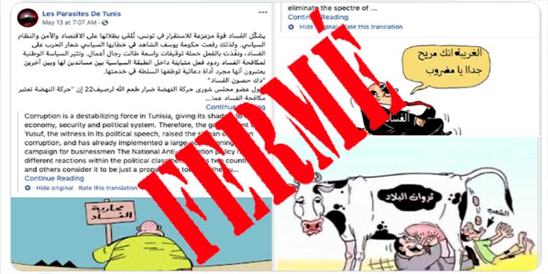 Quelles sont les pages de Facebook suspendues en Tunisie ?