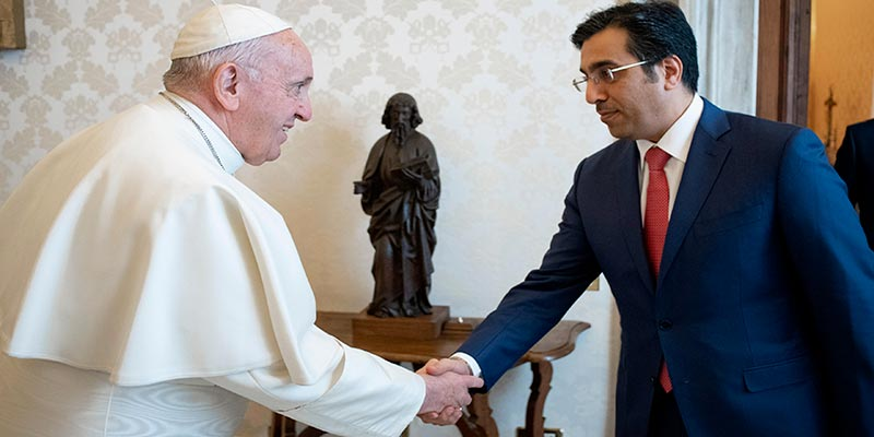 Le pape sollicité pour résoudre la crise entre le Qatar et ses voisins