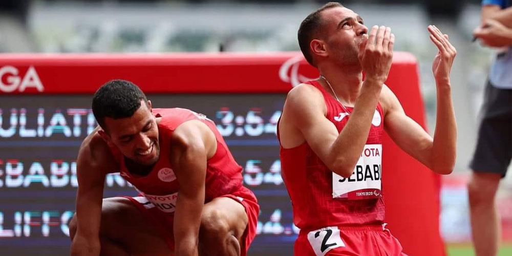 Jeux Paralympiques : deux médailles d'or, quatre d'argent et une de bronze pour la Tunisie