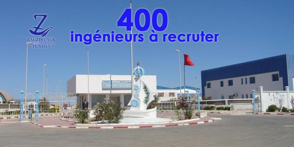 Le parc d'activité de Zarzis s'apprête à recruter 400 ingénieurs