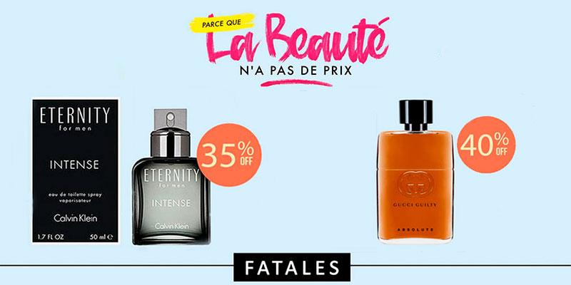5 parfums pour homme à shopper chez Fatales avant la fin des soldes…