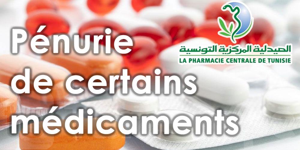 Pénurie de certains médicaments en Tunisie