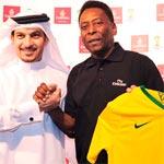 أسطورة كرة القدم بيليه سفيراً عالمياً لطيران الإمارات