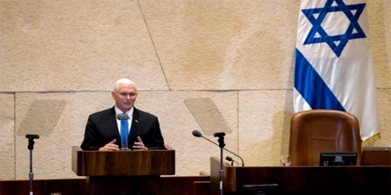 L'ambassade américaine sera à Jérusalem avant fin 2019, annonce le vice-président américain Mike Pence en Israël