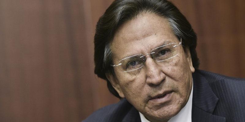 L'ex-président péruvien Toledo arrêté aux Etats-Unis