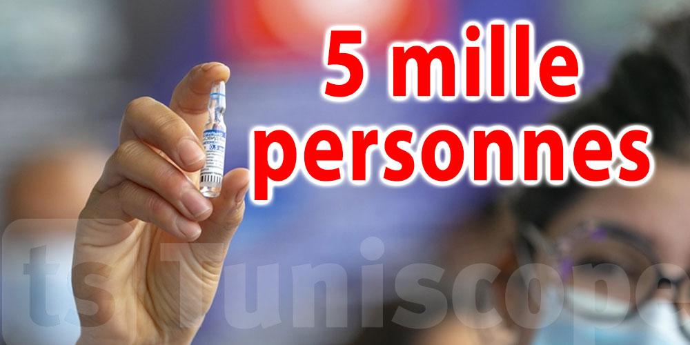 5 mille Tunisiens vaccinés par l'unité mobile