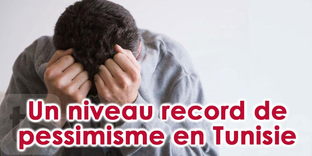 Un niveau record de pessimisme en Tunisie