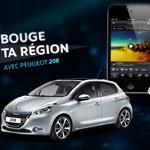 Bouge-ta-region.com ou le lancement original de la Peugeot 208 en Tunisie