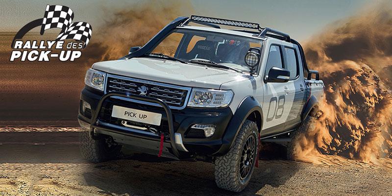 En vidéo : Les Clients Peugeot font le Rallye à bord de leurs PICK UP