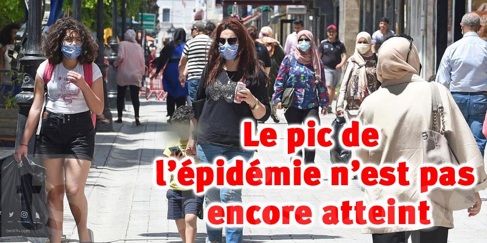 Le pic de l'épidémie n'est pas encore atteint en Tunisie
