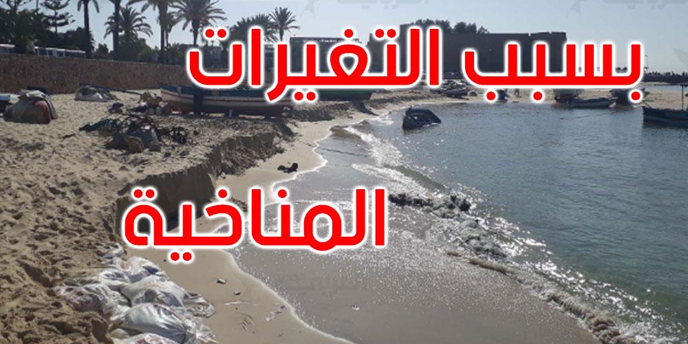 200  كلم من الشريط الساحلي التونسي مهددة بالانجراف البحري