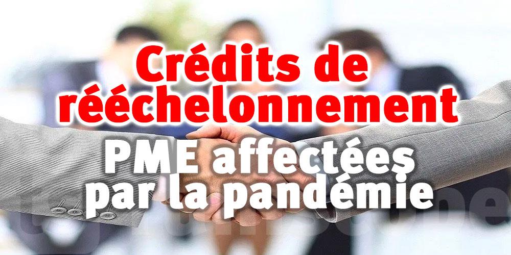 Crédits de rééchelonnement pour les PME affectées par la pandémie