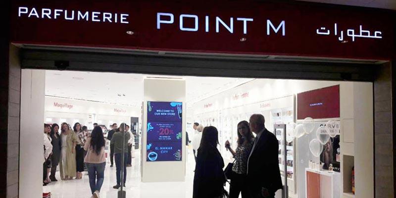En photos : Découvrez la nouvelle boutique POINT M au centre El Manar City