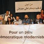 Le pôle démocratique moderniste : 9 partis à la liste et 4 en négociations ...