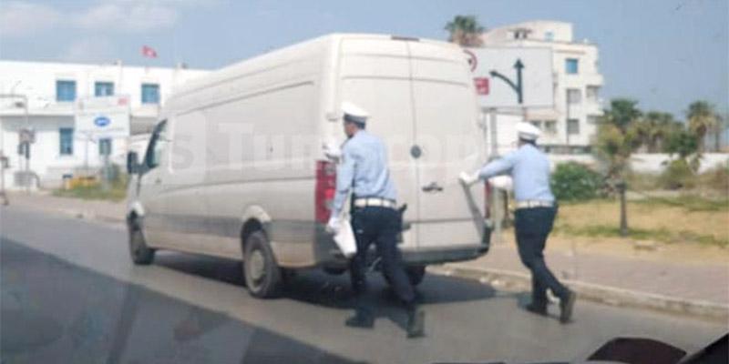 صورة اليوم: الشرطة في خدمة الشعب