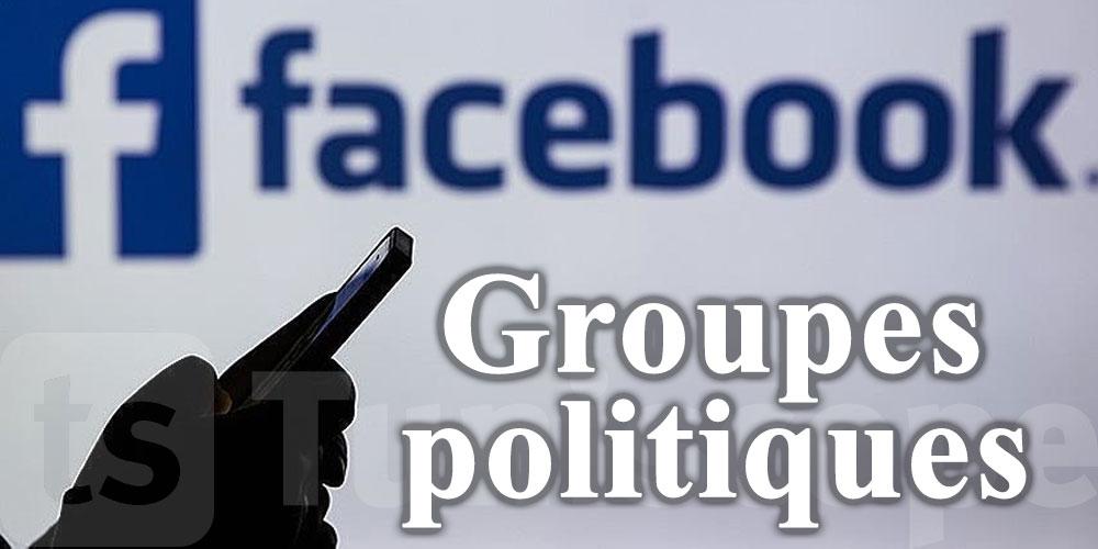 Facebook va arrêter de recommander les groupes politiques à ses utilisateurs
