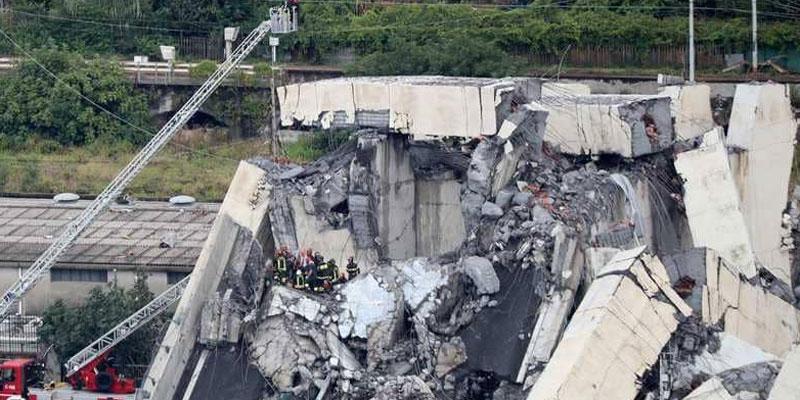 لاعب إيطالي سابق ينجو من جسر الموت.. ويصف الكارثة<