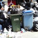 Les poubelles débordent … jusqu'à quand ?!!