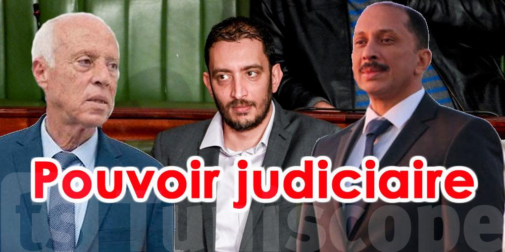 Yassine Ayayri : Kais Saied  et Mohamed Abbou autoproclamés pouvoir judiciaire