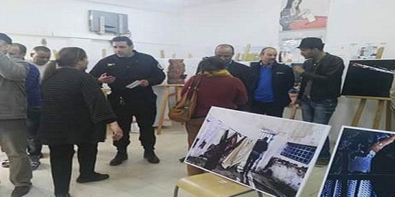 Quand une exposition est réalisée par des détenus à Gafsa