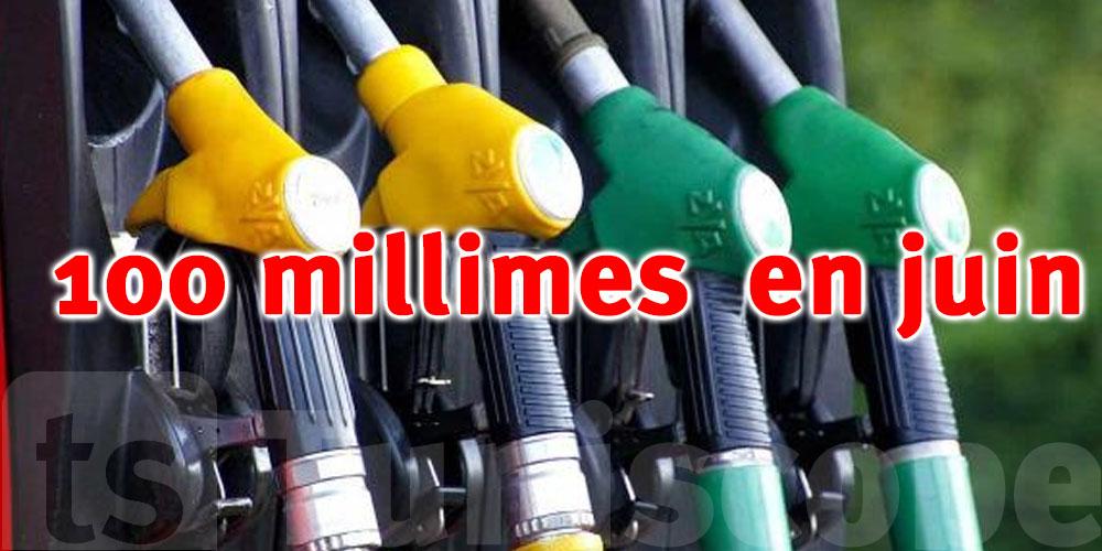 Nouvelle augmentation de 100 millimes pour le prix du carburant en juin