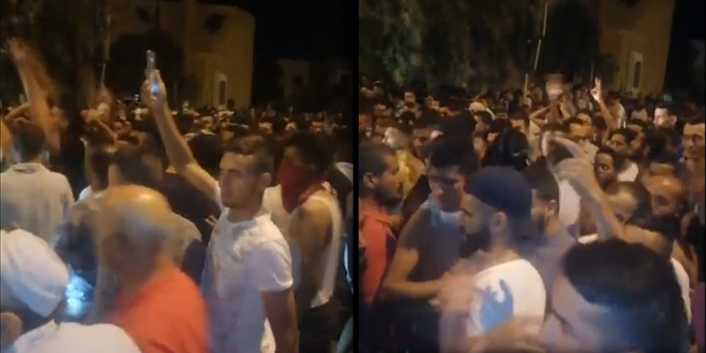 Protestations nocturnes à Remada