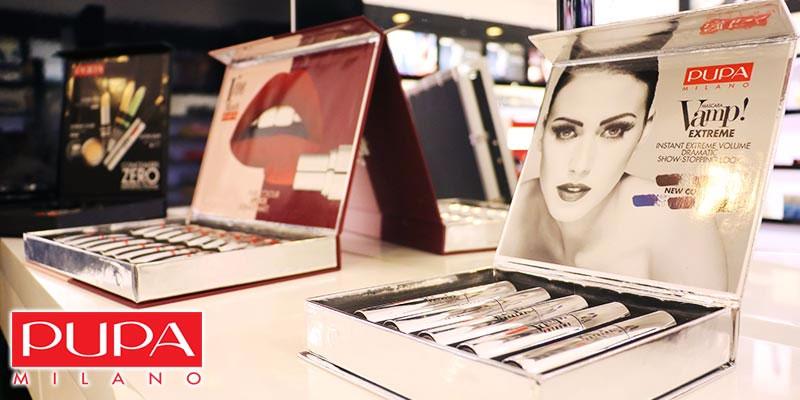 En vidéo : Lancement des nouvelles gammes de produits cosmétiques PUPA Milano