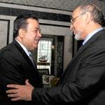 Le chef du Gouvernement reçoit les ambassadeurs du Qatar et du Koweit