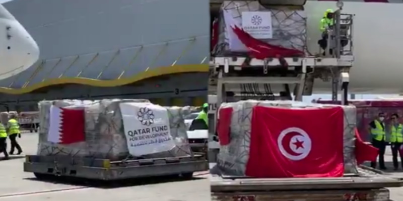 10 tonnes d'équipements envoyées par le Qatar