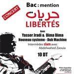 ''Bac Mention Libertés'' : Un concert de musique alternative, samedi 29 juin
