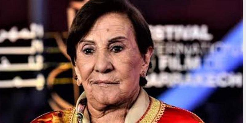 رحيل الفنانة أمينة رشيد رائدة السينما والمسرح المغربي