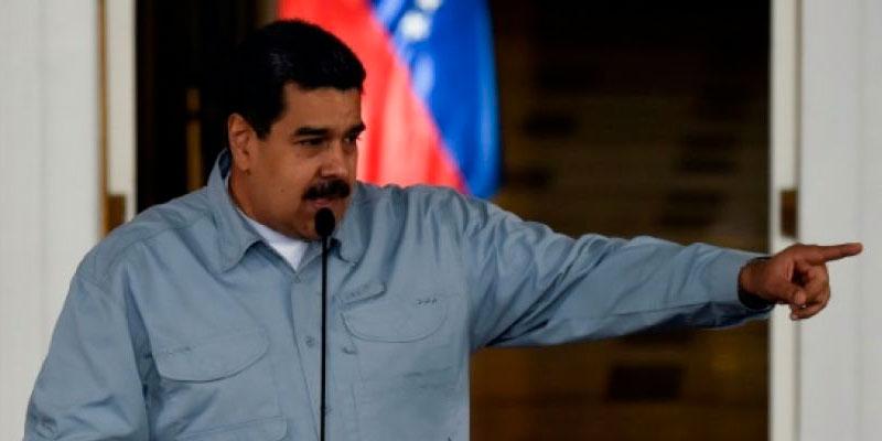 Le président vénézuélien accuse les gouvernements français et espagnol d'être ''racistes''