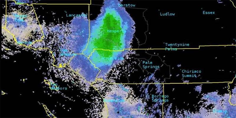 رصد بقعة ضخمة بسماء كاليفورنيا.. والرادار يكشف مفاجأة غريبة