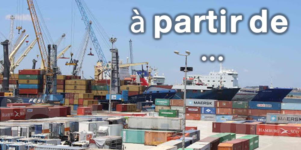 Fini la paperasse au port de Radès à partir de...
