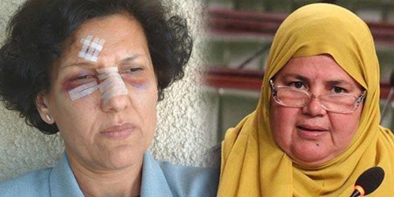 ''مباركة البراهمي لراضية النصراوي: ''أيتها الشرسة العنيدة .. ما مرّ بكِ ليس سهلا
