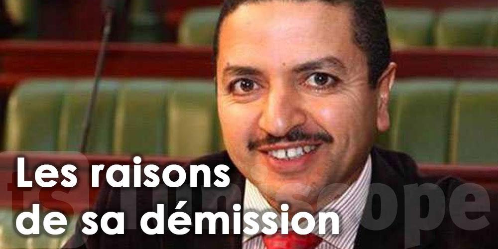 Les raisons de la démission de Habib Khedher