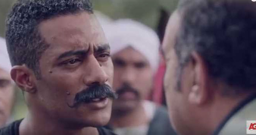 صور :أخطاء بالجملة في الحلقة الأولى من مسلسل 'نسر الصعيد'
