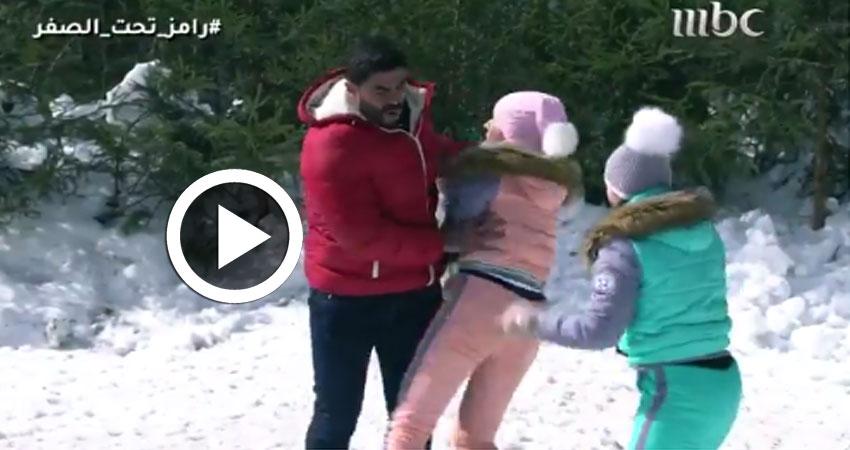 بالفيديو..رد فعل غير متوقع من خالد سليم في 'رامز تحت الصفر'
