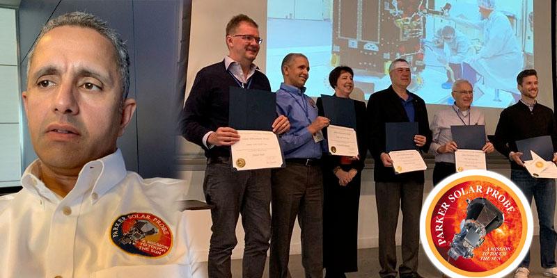 Le Tunisien Noureddine Raouafi reçoit la plus haute distinction de la NASA