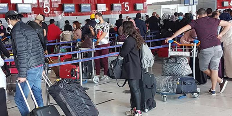 Rapatriement de 219 Tunisiens bloqués en France