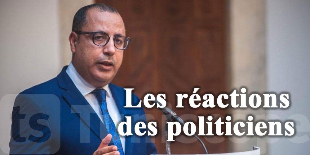 Les réactions des politiciens après le discours de Mechichi