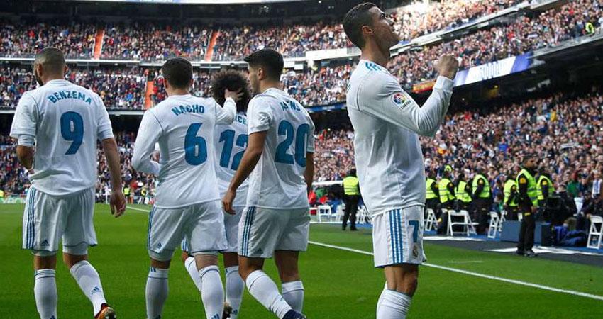 ريال مدريد يكتسح إشبيلية بـ 5 أهداف