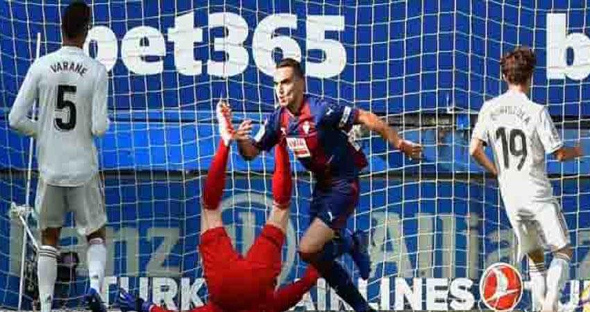 إيبار يسحق ريال مدريد بثلاثية