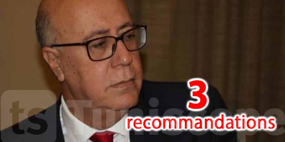 Tunisie: 3 recommandations du gouverneur de la Banque Centrale
