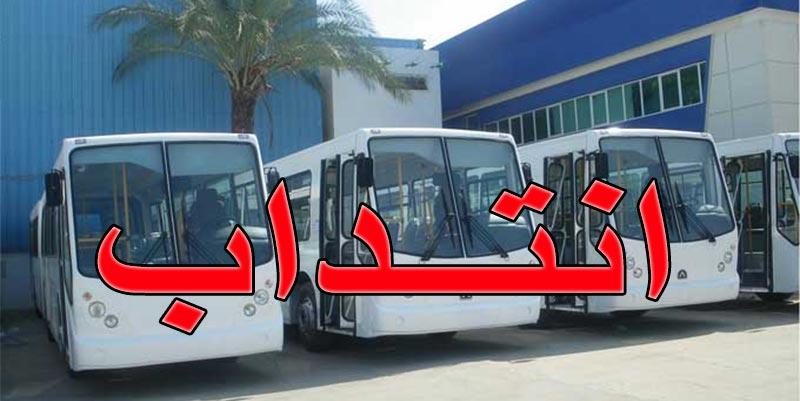 الشركة الوطنية للنقل بين المدن تنتدب : التفاصيل